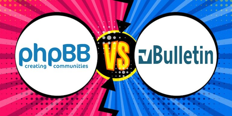 phpBB Vs vBulletin – Why vBulletin and not phpBB?