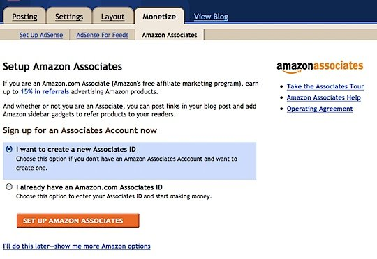 Google And Amazon Partner Up : Make Money With Amazon from Blogger Blogs