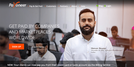 Payoneer review
