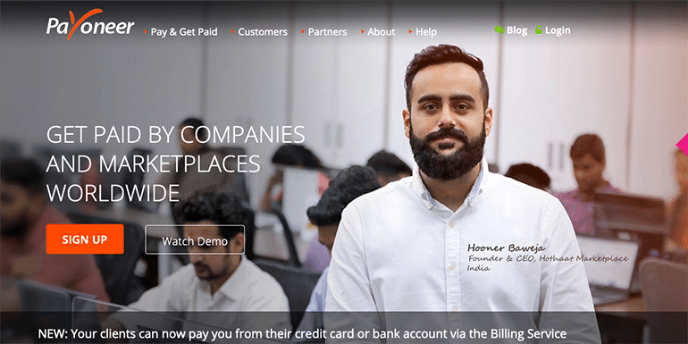 Payoneer Review – From An Indian's Perspective in 2019