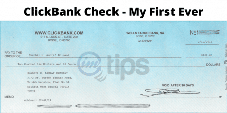 Clickbank Check India