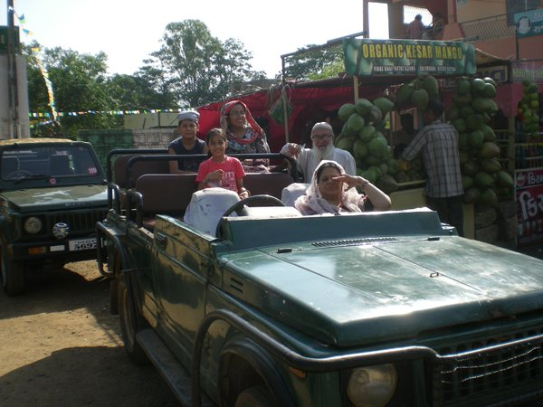 Starting our Safari Into the Gir Jungle