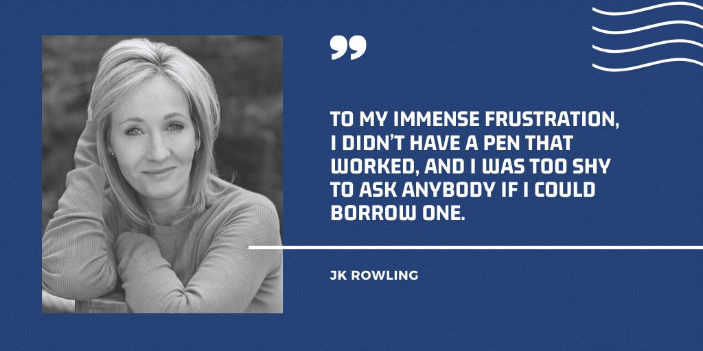JK Rowling an Introvert and Better Writer