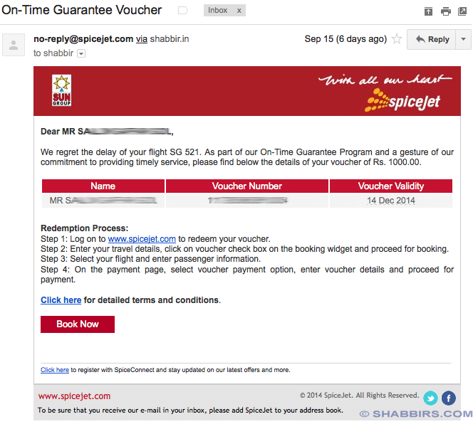 The Way Spicejet Handles On-Time Guarantee of Late Flights