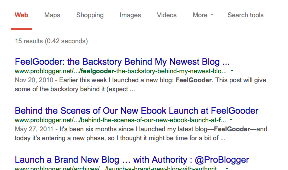 Why you don't get to read those blogging failure stories?