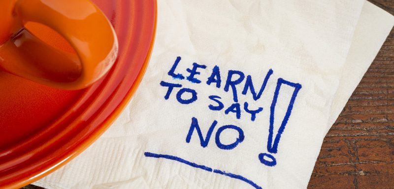 When Is The Time to Say NO to More Work From Clients?