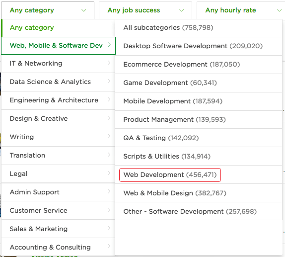 How Tough it is to Find Freelance Web Development Work in Upwork?