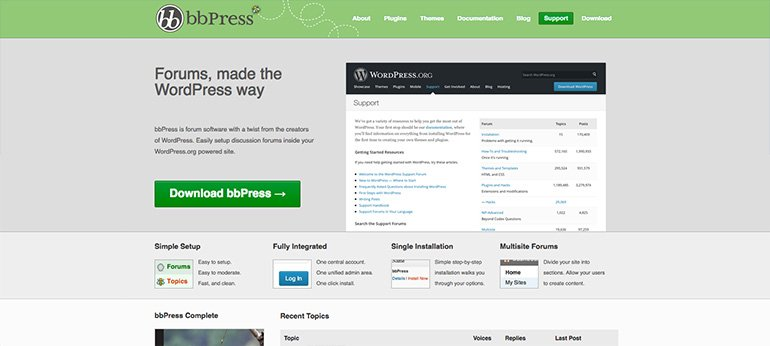 bbpress - a vbulletin alternative