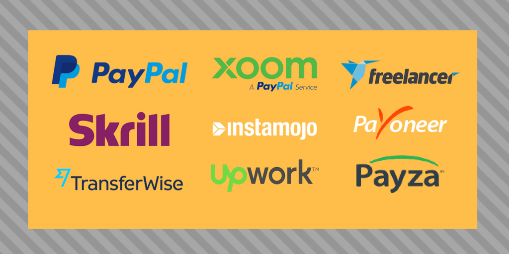 Freelancer Payment Options in India