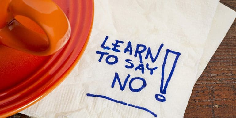 How to Say NO to Clients – 3 Ways I Use To Say No To Clients