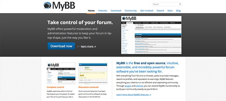 MyBB - vbulletin alternative