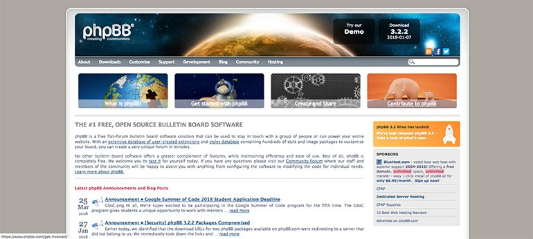 phpbb - a vbulletin alternative