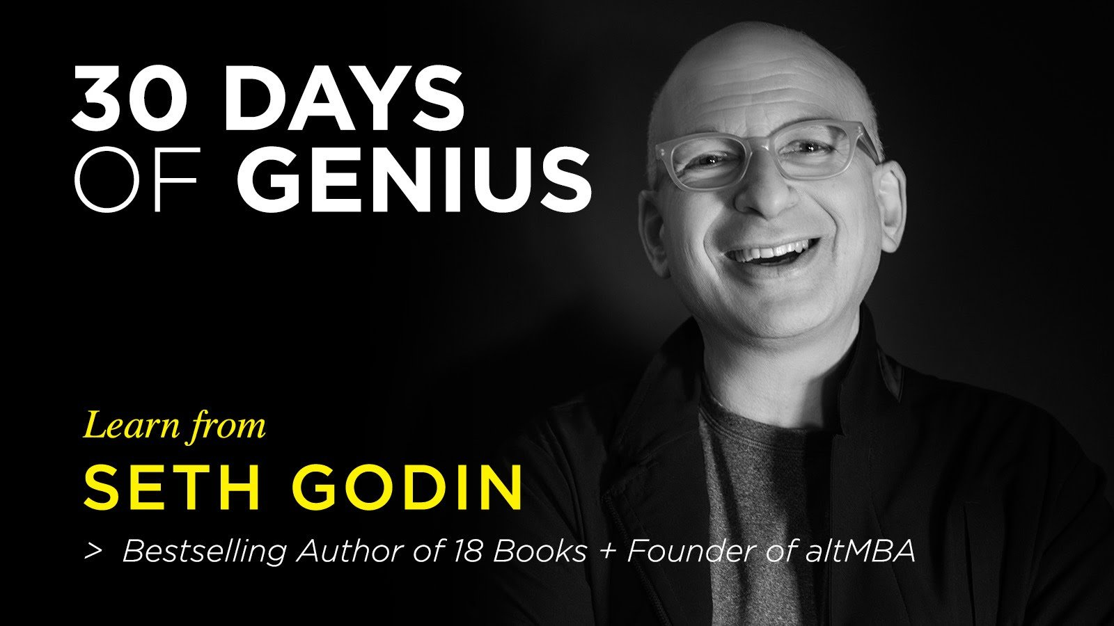 Chase Jarvis Interviews Seth Godin On CreativeLive – 30 Days of Genius