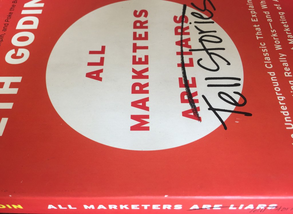 are all marketers liars and storytellers The rise of storytelling in marketing number of storytellers in marketing: 12,000 all marketers tell stories in his book all marketers are liars.