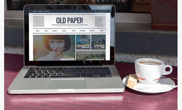 OldPaper: The Best Magazine Style Theme for WordPress
