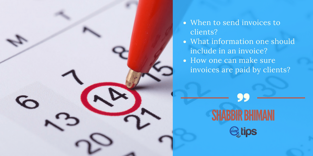 everything freelancers need to know about invoicing imtips