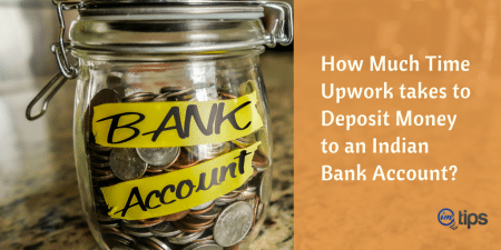 Upwork Deposit Money Bank Account