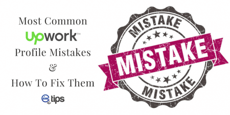Upwork Profile Mistakes