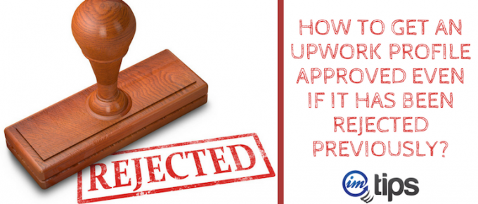 How to Get Your Upwork Profile Approved?