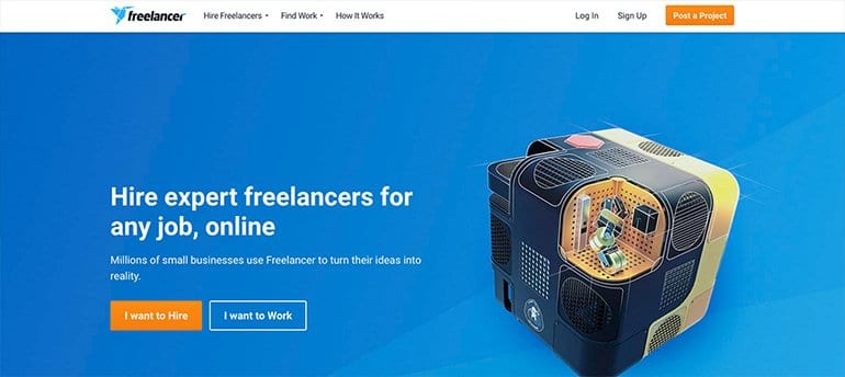 freelancing site freelancer