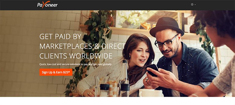 Payoneer to Receive Payments in India