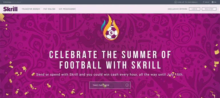 skrill online payment solution
