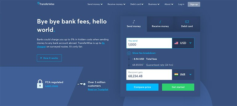 TransferWise to Receive Payments in India