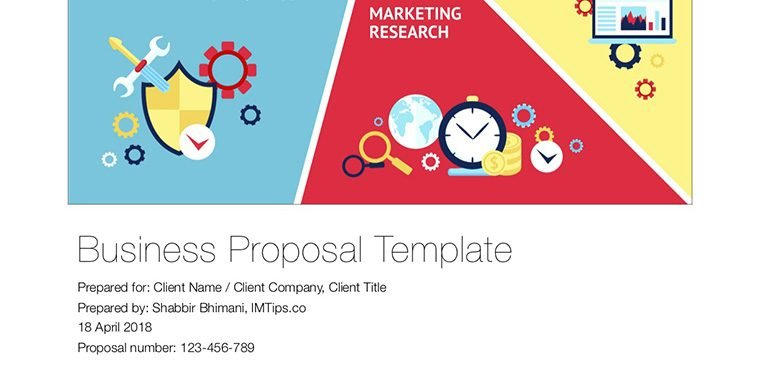 How To Write Business Proposal Download Free Template Imtips