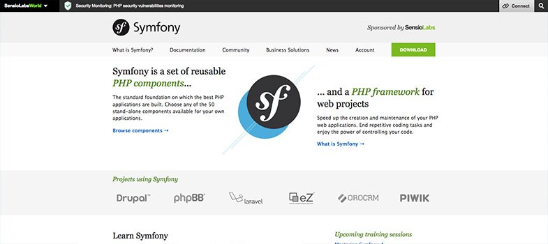 7 widely used php frameworks for freelancers in 2018 imtips symfony php framework fandeluxe