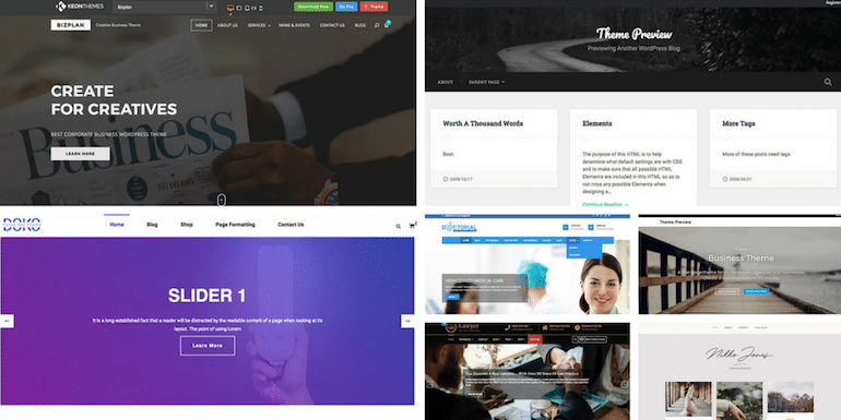 7 Best Free WordPress Themes For Portfolio Website