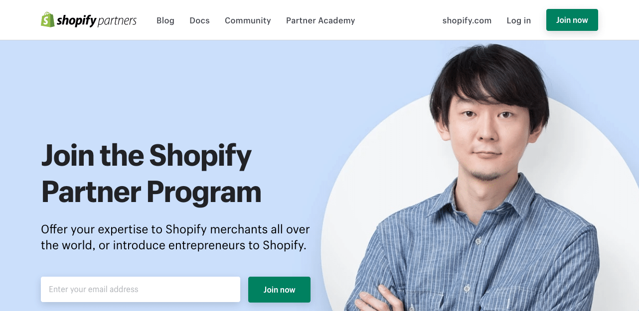 Shopify Partner Program with Recurring Aff Commission