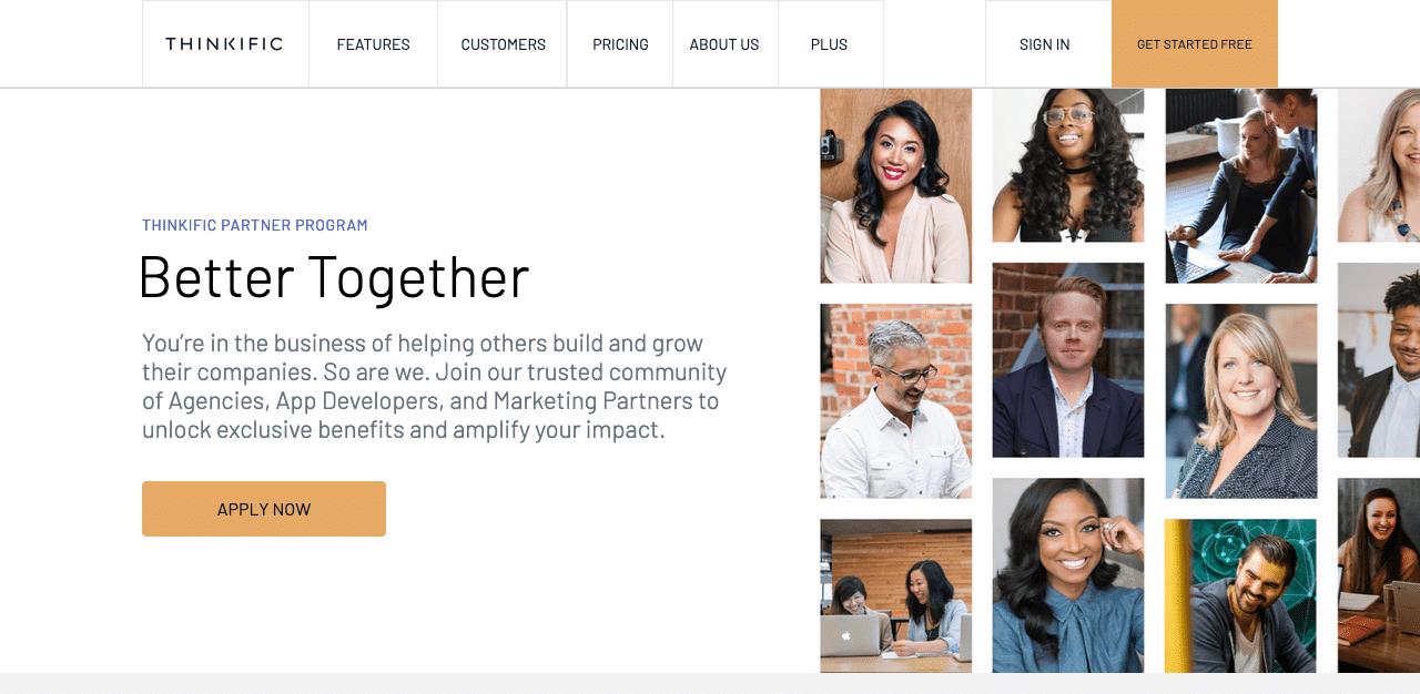 Thinkific Partner Program