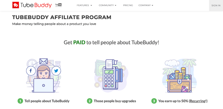 TubeBuddy Affiliate Program