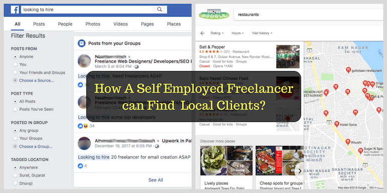 How to Get Local Indian Clients for Freelance Services Business?