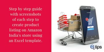 How to Add Products on Amazon India Via Excel Template?