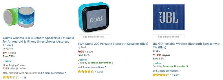 Amazon in speakers bluetooth wireless Electronics