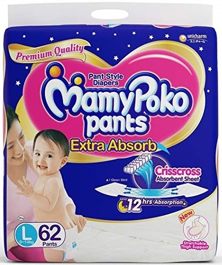 Mamy Poko Pants Diaper Large