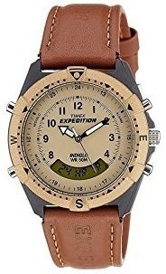 Timex Expedition Analog-Digital Beige Dial Men's Watch-MF13