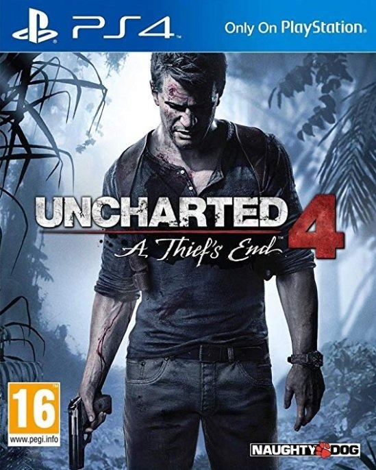 Uncharted 4 A Thiefs End (PS4)