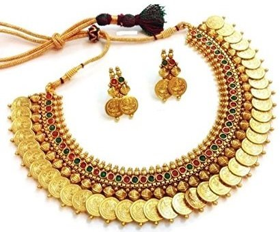 YouBella Golden Plated Jewellery Set for Women (Multi-Colour)