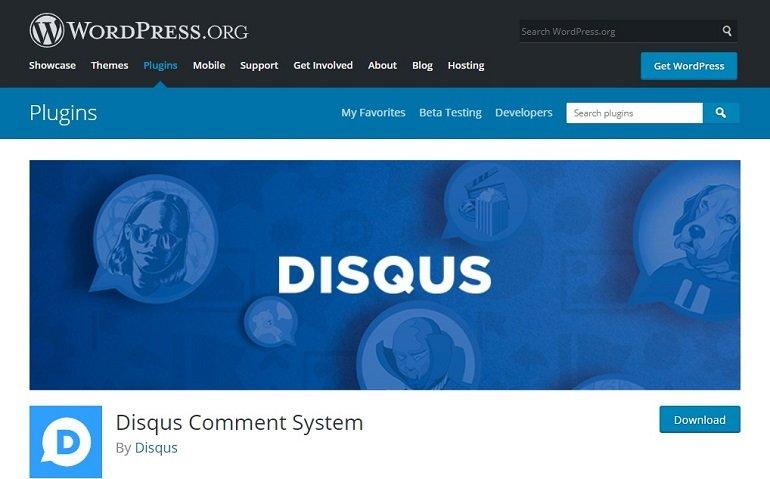 Disqus Comment System WordPress plugin