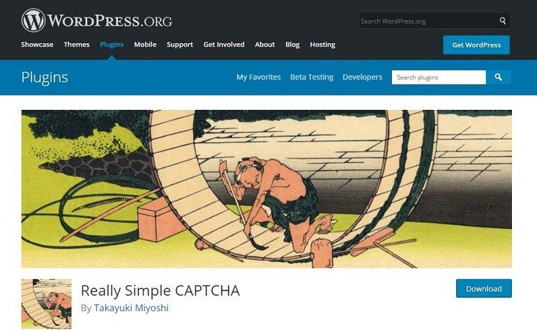 Really Simple Captcha WordPress plugin
