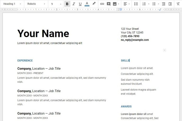 20+ Google Fonts to Give a Professional Look To Your Resume - IMTips