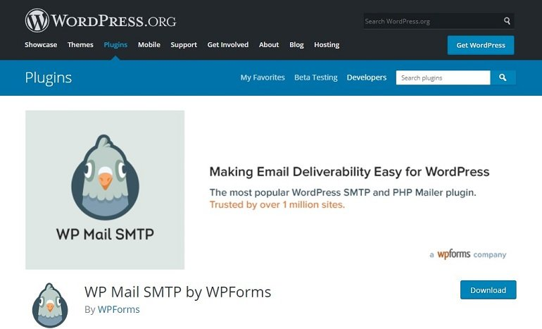 WP Mail SMTP WordPress plugin