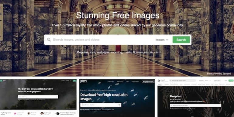 25 Sites To Download Free Images For Blog Posts (or Otherwise)