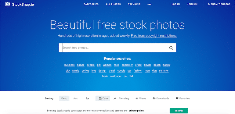 download free images from stocksnap.io
