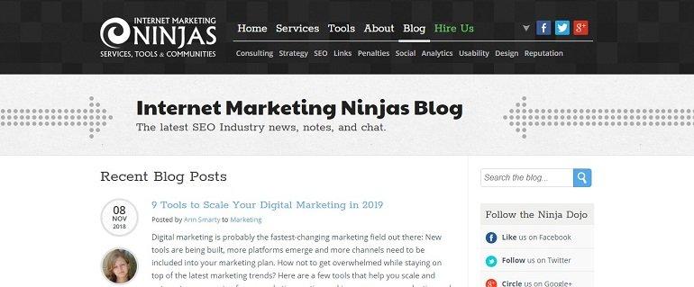internet marketing ninjas blog
