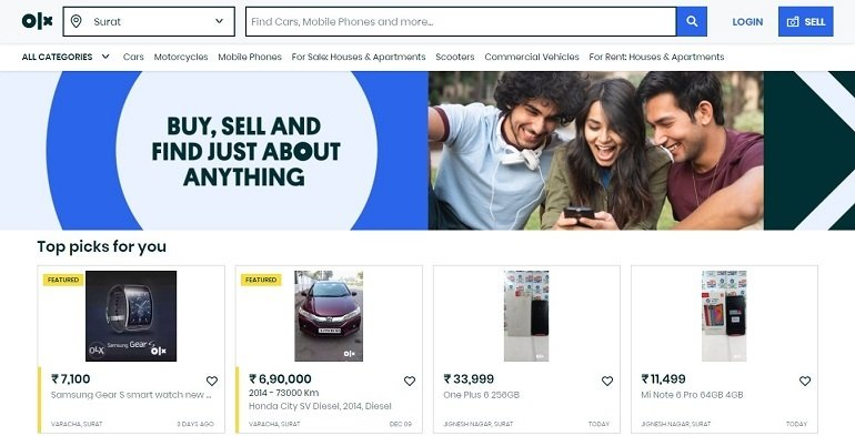 olx free classifieds in india