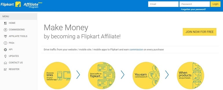 Flipkart Affiliate Program