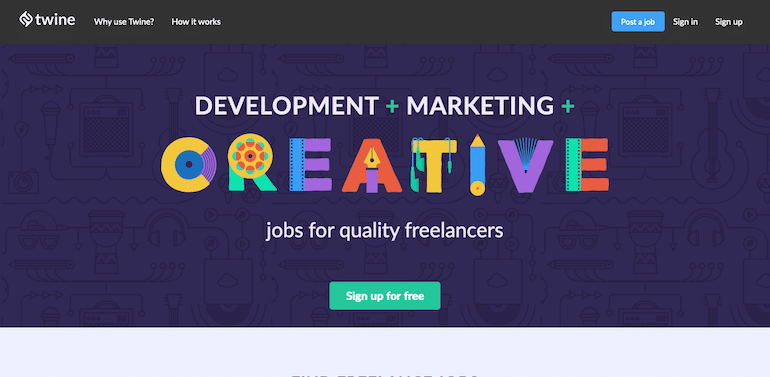 Twine  Helping Quality Freelancers to Find Jobs